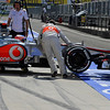 HUNGARIAN GRAND PRIX F1/2012 - BUDAPEST 27/07/2012  - JENSON BUTTON