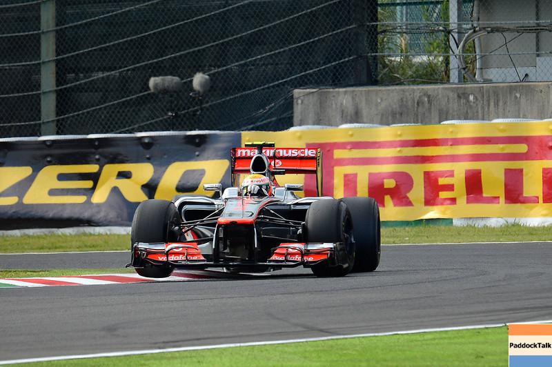 JAPANESE GRAND PRIX F1/2012 - SUZUKA 06/10/2012 - LEWIS HAMILTON