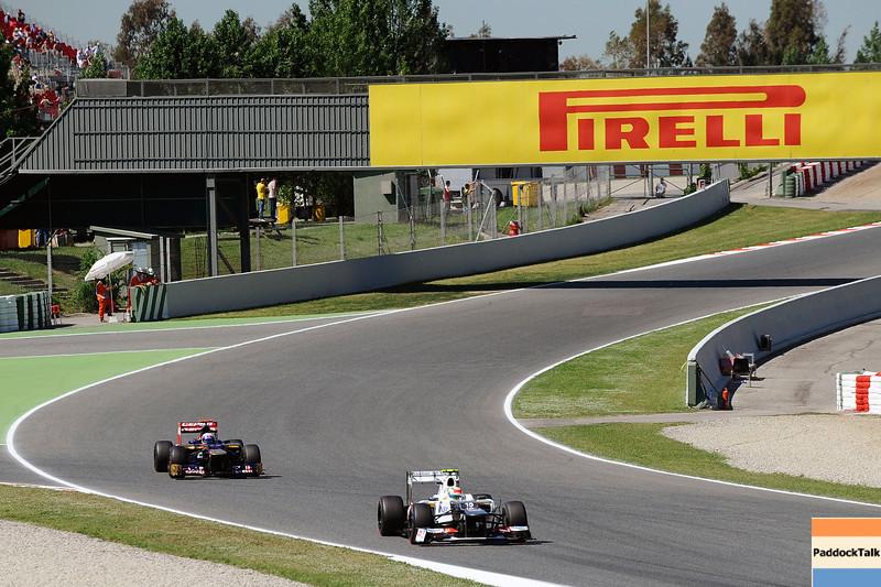 SPANISH GRAND PRIX F1/2012 - BARCELONA 11/05/2012 - KAMUI KOBAYASHI -