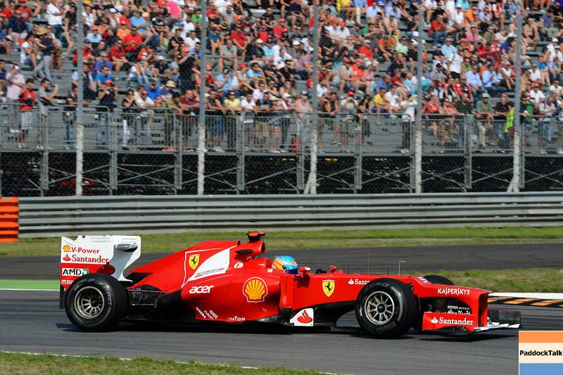 ITALIAN GRAND PRIX F1/2012 - MONZA 07/09/2012 - FERNANDO ALONSO