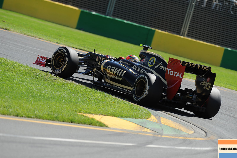 AUSTRALIAN GRAND PRIX F1/2012 - MELBOURNE 17/03/2012 - ROMAIN GROSJEAN