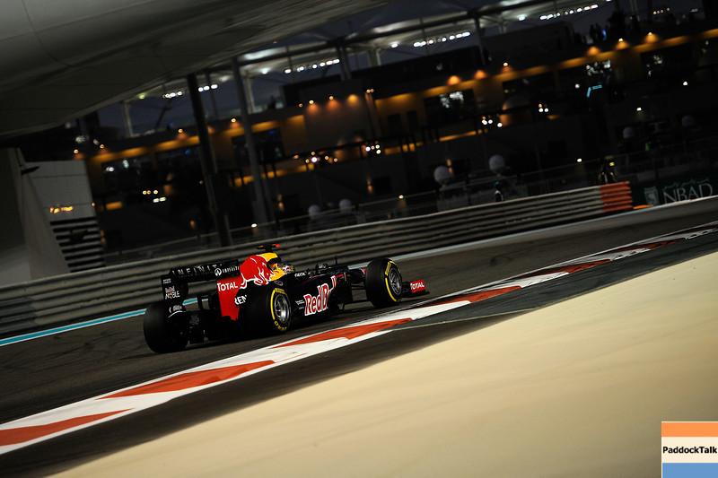 ABU DHABI GRAND PRIX F1/2012 - YAS MARINA 02/11/2012 - SEBASTIAN VETTEL