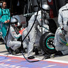 GREAT BRITAIN GRAND PRIX F1/2012 - SILVERSTONE 08/07/2012 - MERCEDES PIT STOP