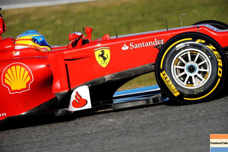 JEREZ (SPAIN) 10/02/2012 - TEST F1/2012 - FERNANDO ALONSO