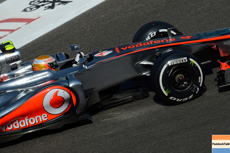 ABU DHABI GRAND PRIX F1/2012 - YAS MARINA 03/11/2012 - LEWIS HAMILTON