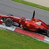 TEST F1/2012 - MUGELLO 03/05/2012 - FERNANDO ALONSO