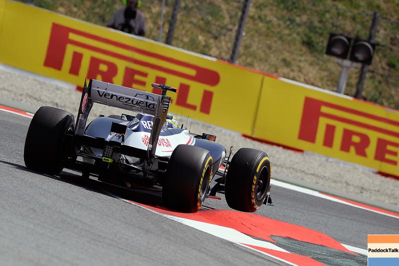 SPANISH GRAND PRIX F1/2012 - BARCELONA 12/05/2012 - PASTOR MALDONADO