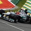 BRAZILIAN GRAND PRIX F1/2012 - INTERLAGOS 25/11/2012 - MICHAEL SCHUMACHER