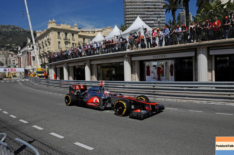 MONACO GRAND PRIX F1/2012 - MONTECARLO 24/05/2012 - JENSON BUTTON