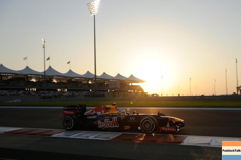 ABU DHABI GRAND PRIX F1/2012 - YAS MARINA 03/11/2012 - SEBASTIAN VETTEL