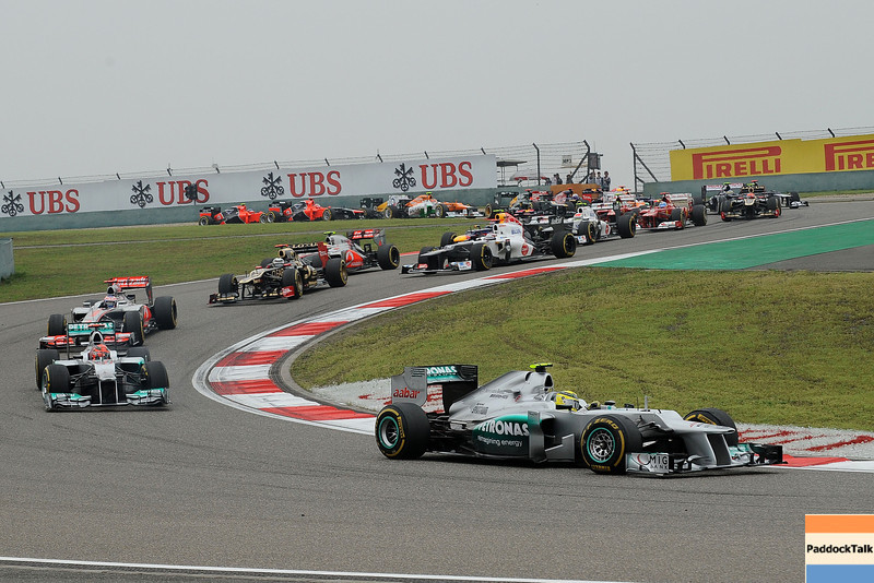 CHINESE GRAND PRIX F1/2012 - SHANGHAI 15/04/2012 - STARTING RACE