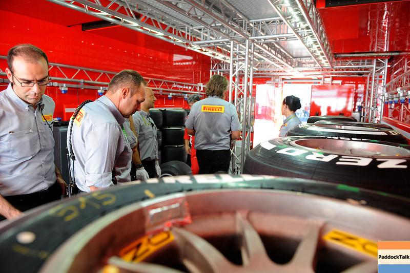 ITALIAN GRAND PRIX F1/2012 - MONZA 07/09/2012 - PIRELLI