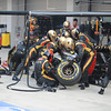 KOREAN GRAND PRIX F1/2012 - YEONGAM 14/10/2012 - PIT STOP LOTUS