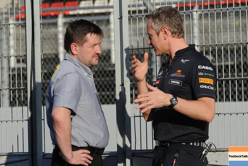 BARCELLONA (SPAIN) 03/03/2012 - TEST F1/2012 - PAUL HEMBERY Courtesy of Pirelli