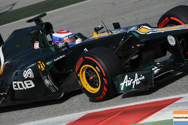 BARCELLONA (SPAIN) 02/03/2012 - TEST F1/2012 - VITALY PETROV Courtesy of Pirelli