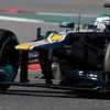 2012 Formula One Barcelona Test Day Two<br /> Circuit de Catalunya, Barcelona, Spain<br /> 2nd March 2012<br /> Heikki Kovalainen, Caterham F1 Team. Action. <br /> World Copyright:Andrew Ferraro/LAT Photographic<br /> ref: Digital Image _Q0C5389<br /> Courtesy of Caterham