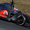 BARCELLONA (SPAIN) 24/02/2012 - TEST F1/2012 - JENSON BUTTON Courtesy of Pirelli