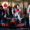 Lewis Hamilton Testing Courtesy of McLaren