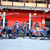 BARCELLONA (SPAIN) 24/02/2012 - TEST F1/2012 - PIT STOP RED BULL MARK WEBBER Courtesy of Pirelli