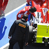BARCELLONA (SPAIN) 03/03/2012 - TEST F1/2012 - PIRELLI TECHNICIAN CONTROL FERRARI. Courtesy of Pirelli