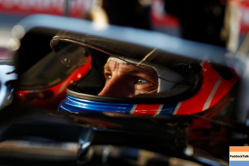 Jenson Button Testing Courtesy of McLaren