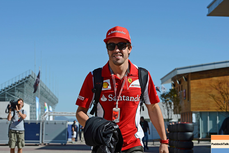 2012 Korea Grand Prix PaddockTalk/Courtesy of Ferrari