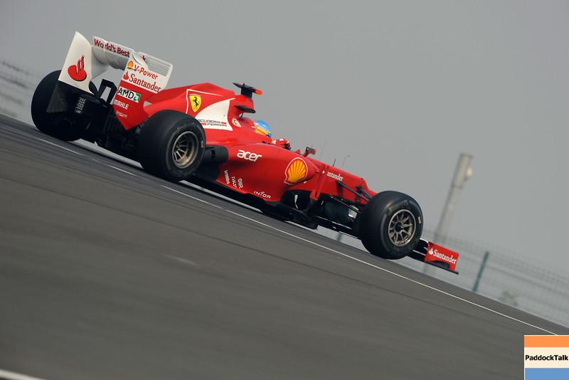 2012 India Grand Prix PaddockTalk/Courtesy of Ferrari