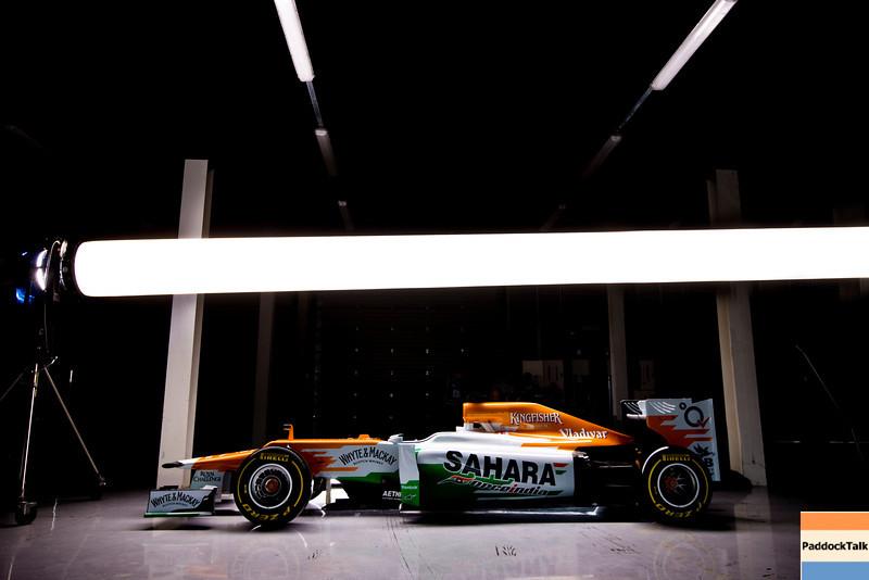 Sahara Force India Formula One Team - VJM05 Launch - Silverstone, UK, 03.02.2012 -  Sahara Force India Formula One Team Copyright Free Image