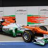 The New VJM05 -  Sahara Force India Formula One Team - VJM05 Launch - Silverstone, UK, 03.02.2012 -  Sahara Force India Formula One Team Copyright Free Image