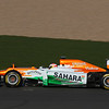 Paul di Resta (GBR) -  Sahara Force India Formula One Team - VJM05 Launch - Silverstone, UK, 03.02.2012 -  Sahara Force India Formula One Team Copyright Free Image