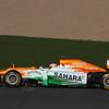 Paul di Resta (GBR) -  Sahara Force India Formula One Team - VJM05 Launch - Silverstone, UK, 03.02.2012 -  Sahara Force India Formula One Team Copyright Free Image