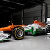 VJM05. Sahara Force India Formula One Team - VJM05 Launch - Silverstone, UK, 03.02.2012 -  Sahara Force India Formula One Team Copyright Free Image
