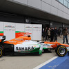 The New VJM05 -  Sahara Force India Formula One Team - VJM05 Launch - Silverstone, UK, 03.02.2012 -  Sahara Force India Formula One Team Copyright Free Image