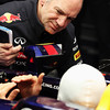 GEPA-07021299005 - FORMULA 1 - Testing in Jerez. Image shows technical officer Adrian Newey and Mark Webber (AUS/ Red Bull Racing). Images Courtesy Of Their Respective Teams