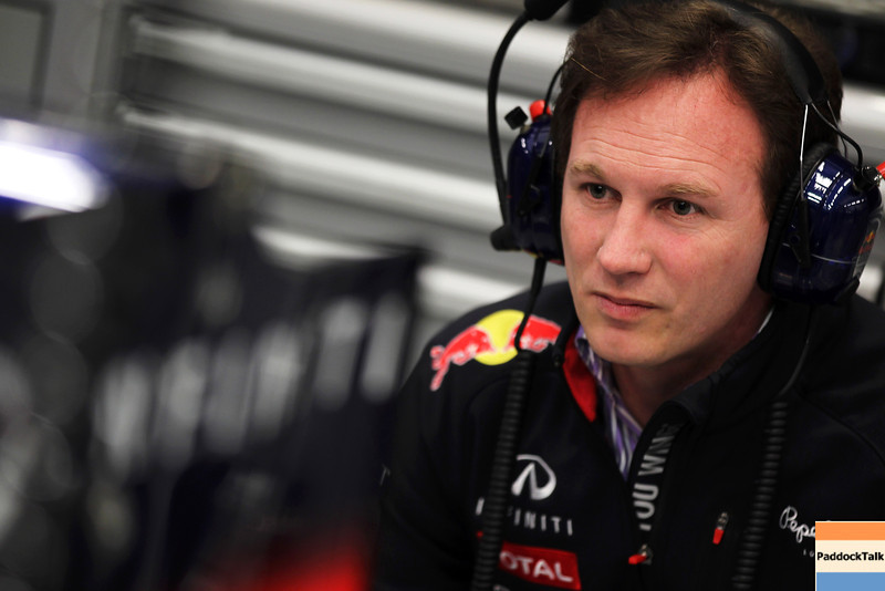 GEPA-07021299008 - FORMULA 1 - Testing in Jerez. Image shows team prinicpal Christian Horner (Red Bull Racing). Images Courtesy Of Their Respective Teams
