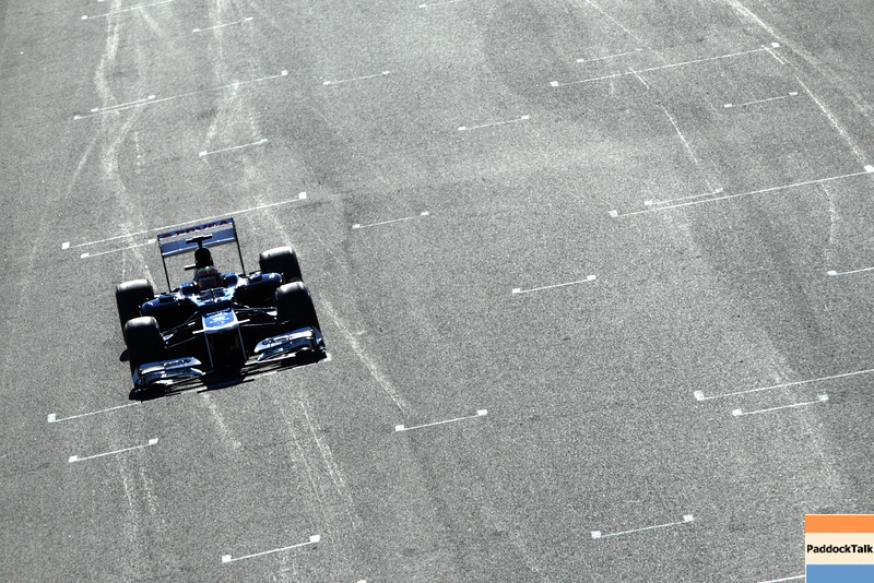 2012 Formula One Jerez Test Day One<br /> Circuito de Jerez, Jerez de la Frontera, Spain<br /> 7th February 2012<br /> Pastor Maldonado, Williams FW34 Renault. Images Courtesy Of Their Respective Teams