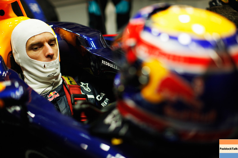 GEPA-07021299010 - FORMULA 1 - Testing in Jerez. Image shows Mark Webber (AUS/ Red Bull Racing). Images Courtesy Of Their Respective Teams