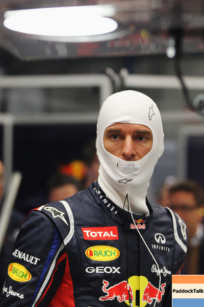 GEPA-07021299001 - FORMULA 1 - Testing in Jerez. Image shows Mark Webber (AUS/ Red Bull Racing). Images Courtesy Of Their Respective Teams