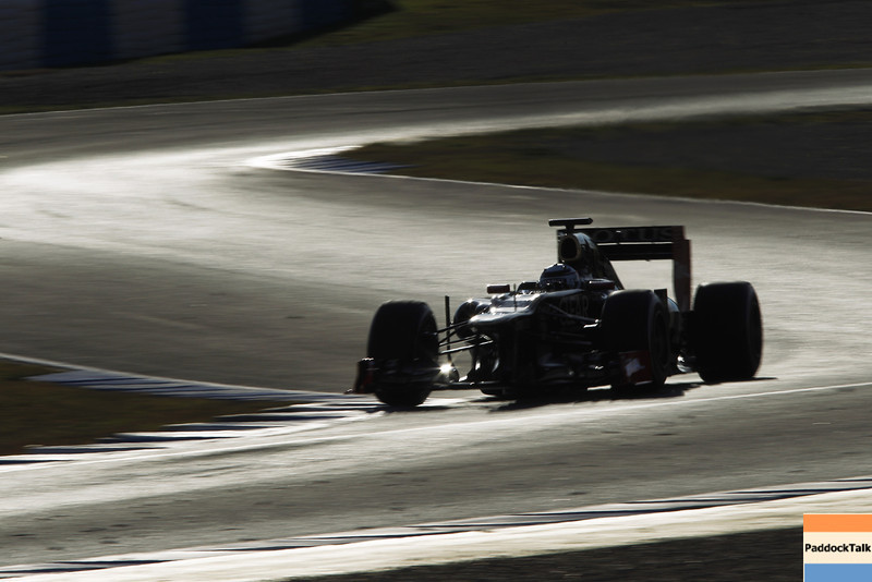 2012 Formula One Jerez Test Day One<br /> Circuito de Jerez, Jerez de la Frontera, Spain<br /> 7th February 2012<br /> Kimi Raikkonen, Lotus F1 Team. Images Courtesy Of Their Respective Teams