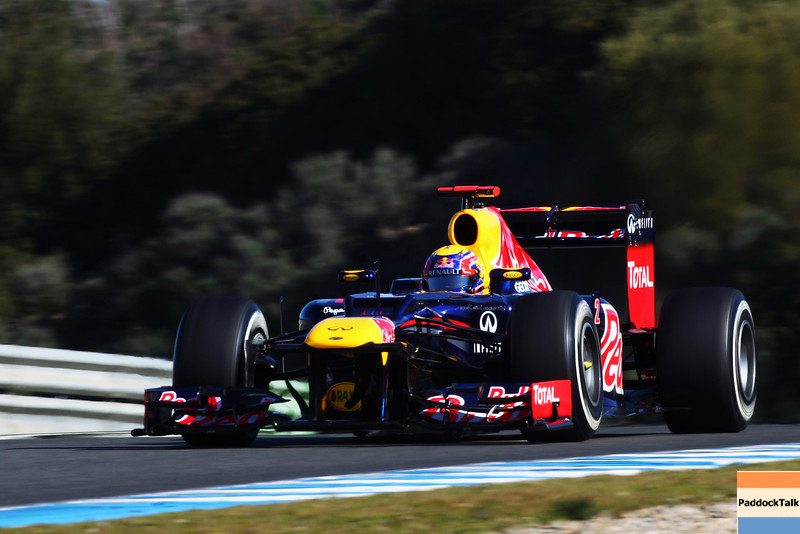 GEPA-07021299012 - FORMULA 1 - Testing in Jerez. Image shows Mark Webber (AUS/ Red Bull Racing). Photo: Mark Thompson/ Clive Mason - For editorial use only. Image is free of charge Images Courtesy Of Their Respective Teams