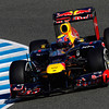GEPA-07021299003 - FORMULA 1 - Testing in Jerez. Image shows Mark Webber (AUS/ Red Bull Racing). Images Courtesy Of Their Respective Teams