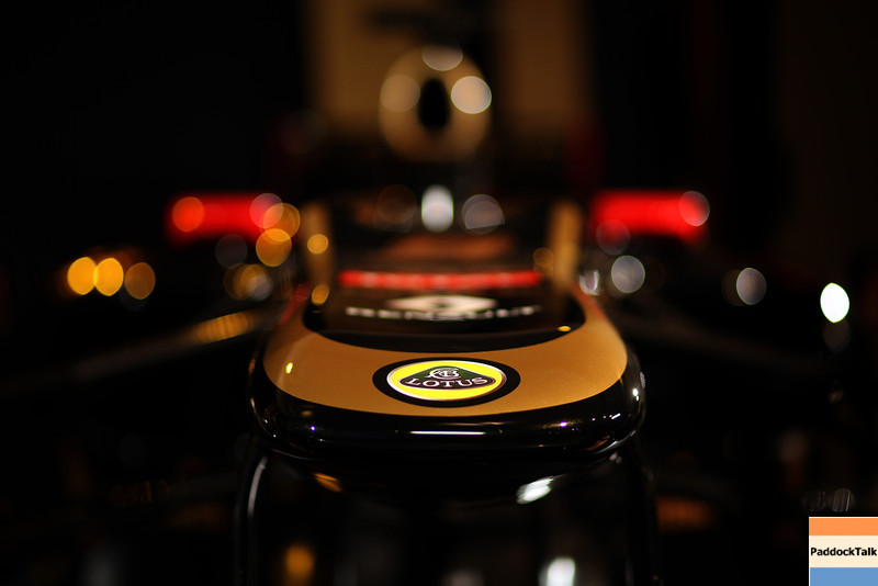 2012 Lotus F1 Team Launch.<br /> Whiteways Technical Centre, Enstone, Oxfordshire United Kingdom.<br /> 2nd February 2012.<br /> World Copyright:Glenn Dunbar/LAT Photographic<br /> ref: IMG_2711