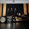 2012 Lotus F1 Team Launch.<br /> Whiteways Technical Centre, Enstone, Oxfordshire United Kingdom.<br /> 2nd February 2012.<br /> World Copyright:Andrew Ferraro/LAT Photographic<br /> ref: AF5D9021