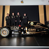 2012 Lotus F1 Team Launch.<br /> Whiteways Technical Centre, Enstone, Oxfordshire United Kingdom.<br /> 2nd February 2012.<br /> World Copyright:Andrew Ferraro/LAT Photographic<br /> ref: AF5D9026