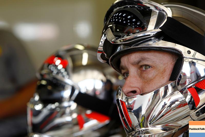 Mechanic of Vodafone McLaren Mercedes at European GP PaddockTalk/Courtesy Of McLaren