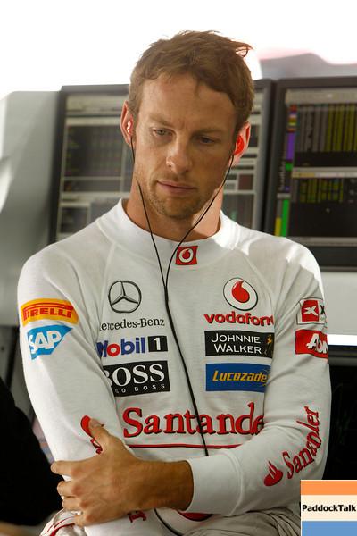 Jenson Button at Korean GP PaddockTalk/Courtesy Of McLaren