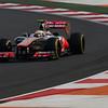 Lewis Hamilton at Indian GP PaddockTalk/Courtesy Of McLaren