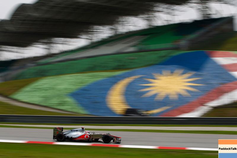 Jenson Button at Malaysian GP PaddockTalk/Courtesy Of McLaren