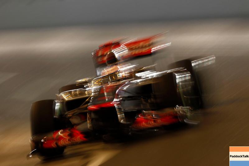 Jenson Button at Monaco GP PaddockTalk/Courtesy Of McLaren