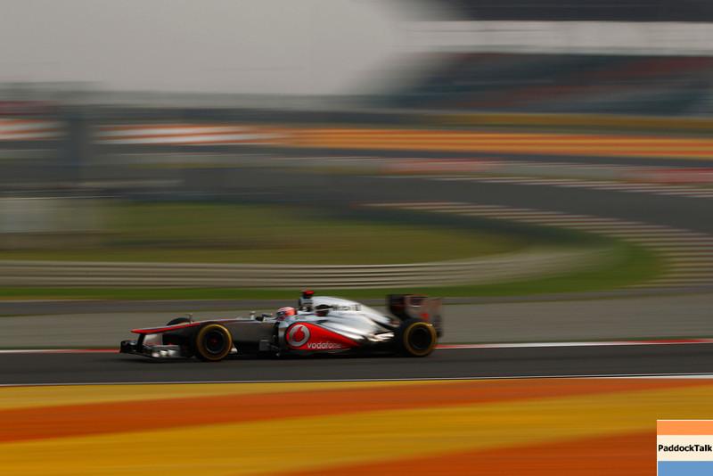 Jenson Button at Indian GP PaddockTalk/Courtesy Of McLaren